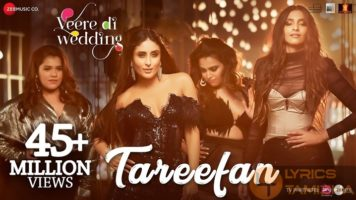 Tareefan Song Lyrics