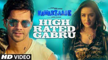 High Rated Gabru Song Lyrics Nawabzaade