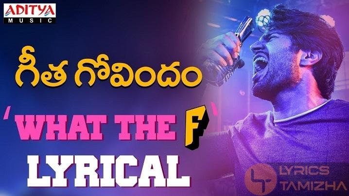 What The F Song Lyrics Vijay Devarakonda