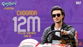 Chogada Song Lyrics LoveRatri