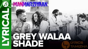 Grey Walaa Shade Song Lyrics