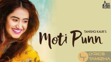 Moti Punn Song Lyrics Tanishq Kaur MixSingh