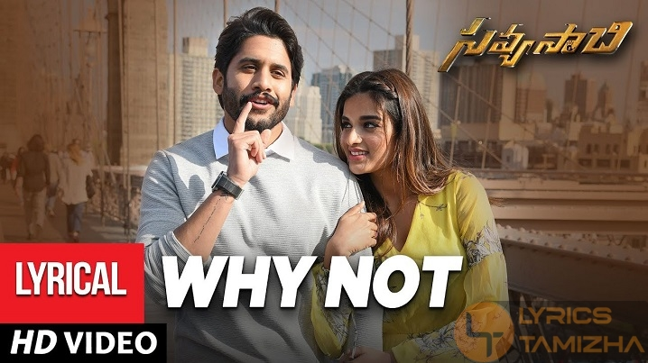 Why Not Song Lyrics Savyasachi