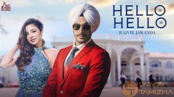 Hello Hello Song Lyrics Rajvir Jawanda