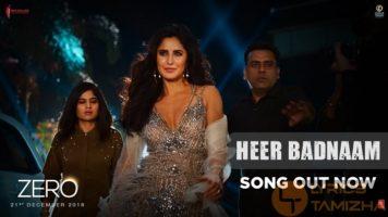 Heer Badnaam Song Lyrics Zero