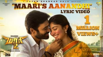 Maaris Aanandhi Song Lyrics Maari 2