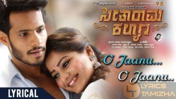 O Jaanu O Jaanu Song Lyrics Seetharama Kalyana