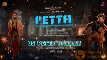 Petta Paraak Song Lyrics Petta