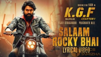 Salaam Rocky Bhai Song Lyrics KGF Chapter 1 Malayalam