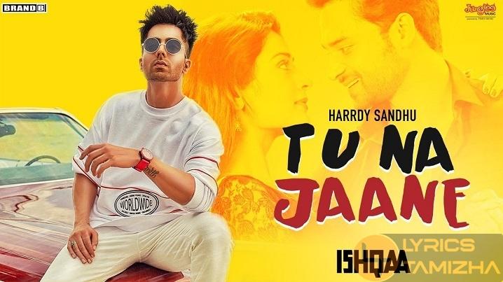 Tu Na Jaane Song Lyrics Harrdy Sandhu