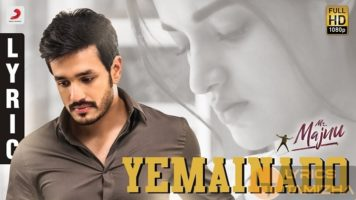 Yemainado Song Lyrics Mr. Majnu