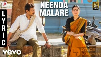 Neenda Malare Song Lyrics Kanne Kalaimaane