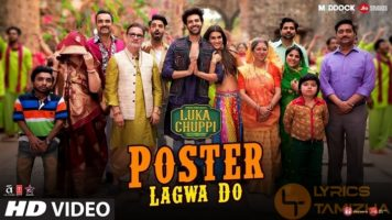 Poster Lagwa Do Song Lyrics Luka Chuppi