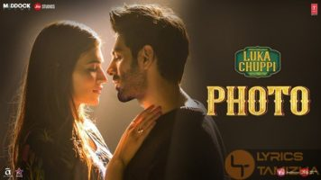 Photo Song Lyrics Luka Chuppi