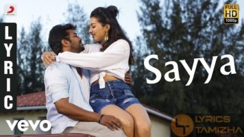 Sayya Song Lyrics Neeya 2